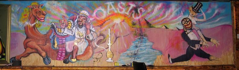 We Went Wong's Mural